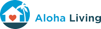 Aloha Living logo, also a link back to homepage