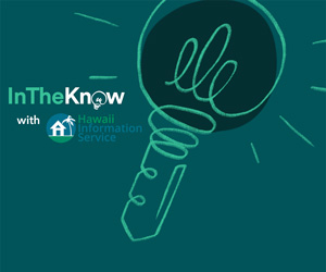 green light bulb HIS in the know graphic